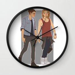 Hipster Fee & Kee Wall Clock
