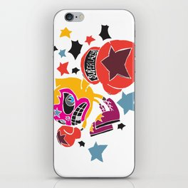 Punch Punch Punch!!! iPhone Skin