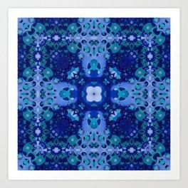 Soldered Quilt Art Print