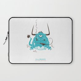 D is for Dragon Laptop Sleeve