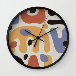 Shapes & Colors II Wall Clock