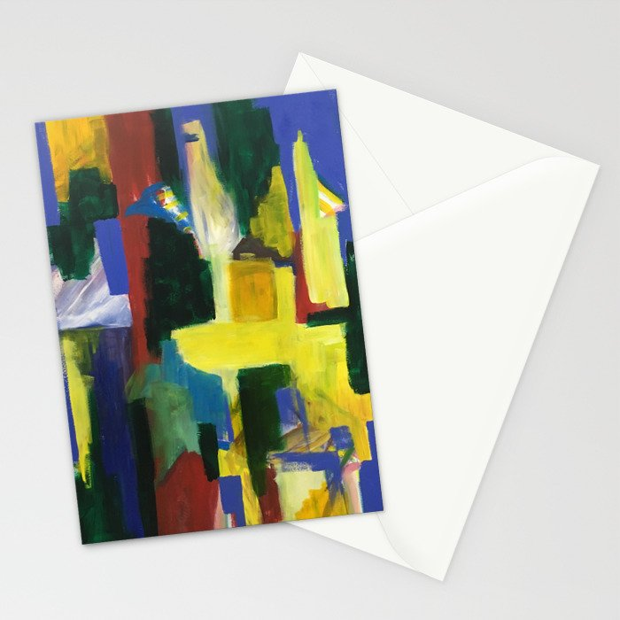 Abstract 1 Penang Stationery Cards