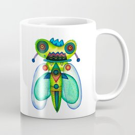 Dragonfly Moth Coffee Mug