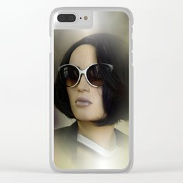 showcased -6- Clear iPhone Case