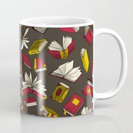 Spellbooks, maroon Coffee Mug