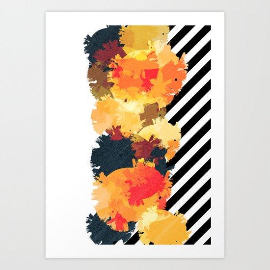 The Fall Patterns #3  Art Print