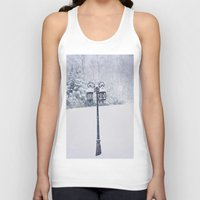narnia Tank Tops featuring Welcome to Narnia by Angela Stansell Photography
