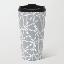 Ab Blocks Grey #2 Metal Travel Mug