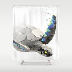 Geosafari   Turtle Shower Curtain