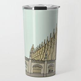 Cambridge stuggles: King's Travel Mug