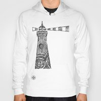 lighthouse Hoodies featuring Lighthouse by Hinterlund