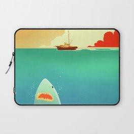 Jaws Beneath the Orca Laptop Sleeve