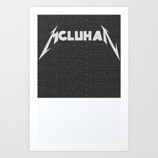 Heavy Metal Thunders Art Print