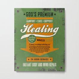 Healing Miracles Metal Print