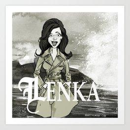 Lenka! Art Print