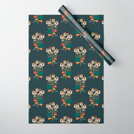 Retro botany Wrapping Paper
