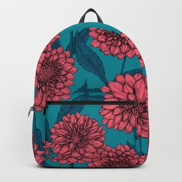 Dahlias Backpack
