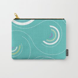 Half Swircles Carry-All Pouch