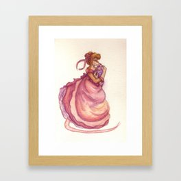 Mousie Mama & Baby Framed Art Print