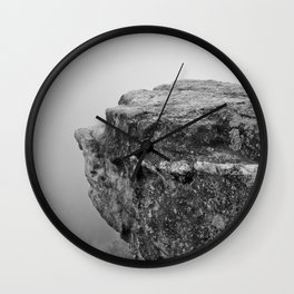 Dogface Rock Wall Clock