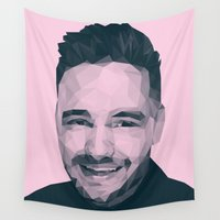 liam payne Wall Tapestries featuring Liam Payne - One Direction by jrrrdan