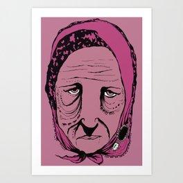 Edie Art Print