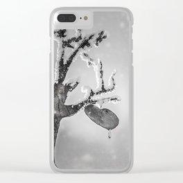 Frozen Heart Clear iPhone Case