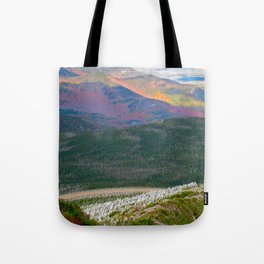 A Touch of Frost in Autumn Tote Bag