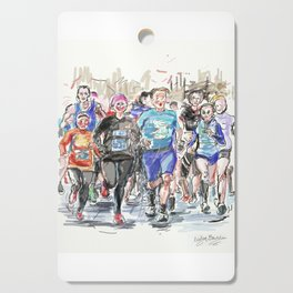Runners Jogging Cutting Board