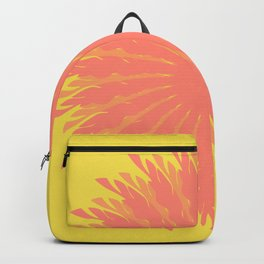 Vector Flower 107 Graphic Art Print Backpack
