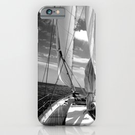 Details on Sailboat iPhone Case