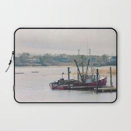 Cape Cod Fishing Boat Laptop Sleeve
