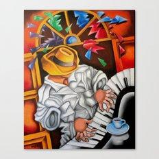 Piano forte Canvas Print