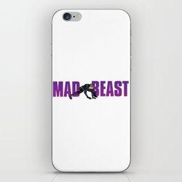 MAD BEAST iPhone Skin