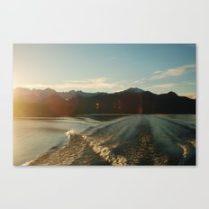 Doubtful Sound Canvas Print
