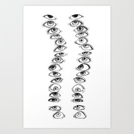Eye See You Art Print