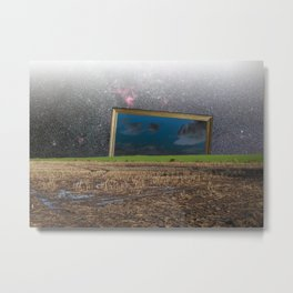 atmosphere · another blue sky Metal Print