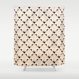 Mod Ivory Shower Curtain