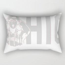 Ohio State Michigan Coach Rivalry Rectangular Pillow