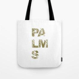 Palms Typo  #society6 #decor #buyart Tote Bag