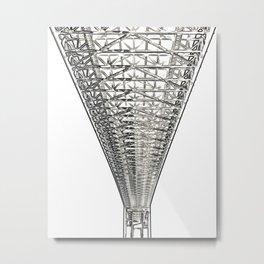 Architecture: Alvsborg Bridge Metal Print