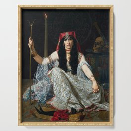 THE SORCERESS - GEORGES MERLE Serving Tray