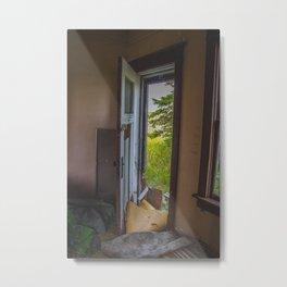 The Yellow House, Arena, North Dakota 7 Metal Print