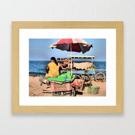 fRuIt StAnD Framed Art Print
