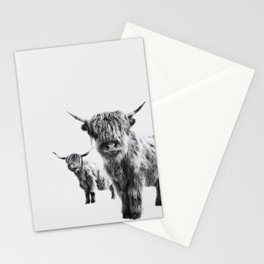 HIGHLAND COW - LULU & SARA Stationery Cards