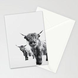 HIGHLAND COW - LULU & SARA Stationery Cards