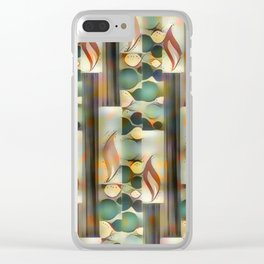 54 Candles. Clear iPhone Case