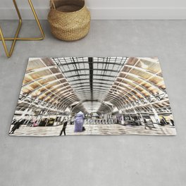 Paddington Railway Station London Rug