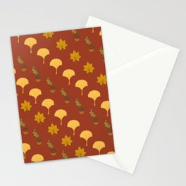Leaves pattern6 Stationery Cards