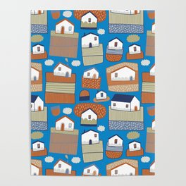 Pattern Project #40 / Little Farms Poster
